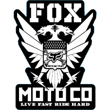 Fox Standard Issue Sticker 5.5 Inch