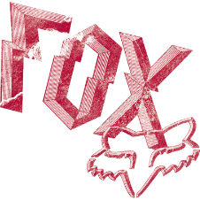 Fox Break It Down Sticker 6 inch