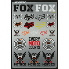 Fox Covert Sticker Kit