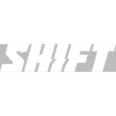 SHIFT Word Die Cut Sticker 6 in