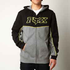 Record Zip Hoody