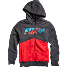 Fox Boys Bustler Sherpa Zip Hoody