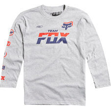 Fox Boys Team Fox LS Tee
