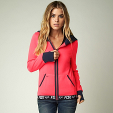 Fox Race Zip Hoody