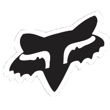 Fox Foxhead Sticker 1.75 Inch