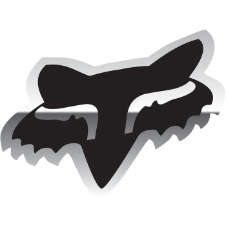 Foxhead Sticker 4 Inch