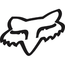 Fox Foxhead TDC Sticker 2 Inch