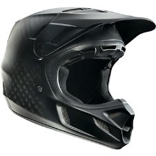 Fox V4 Matte Carbon Helmet