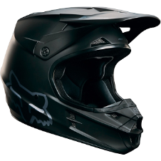 Fox V1 Matte Black Helmet