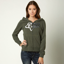 Fox Changing Zip Hoody