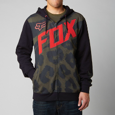 Fox Marz Limited Edition Zip Front Hoody