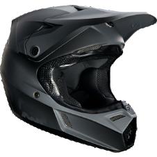 Youth V3 Matte Black Helmet