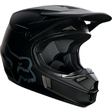 Youth V1 Matte Black Helmet