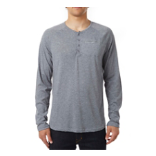 Tech Long Sleeve Henley