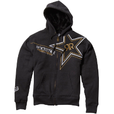 Fox Rockstar Golden Sasquatch Zip Front Fleece