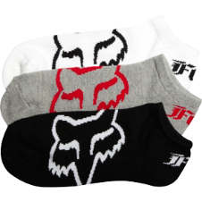 Fox No Show Sock - 3 Pack