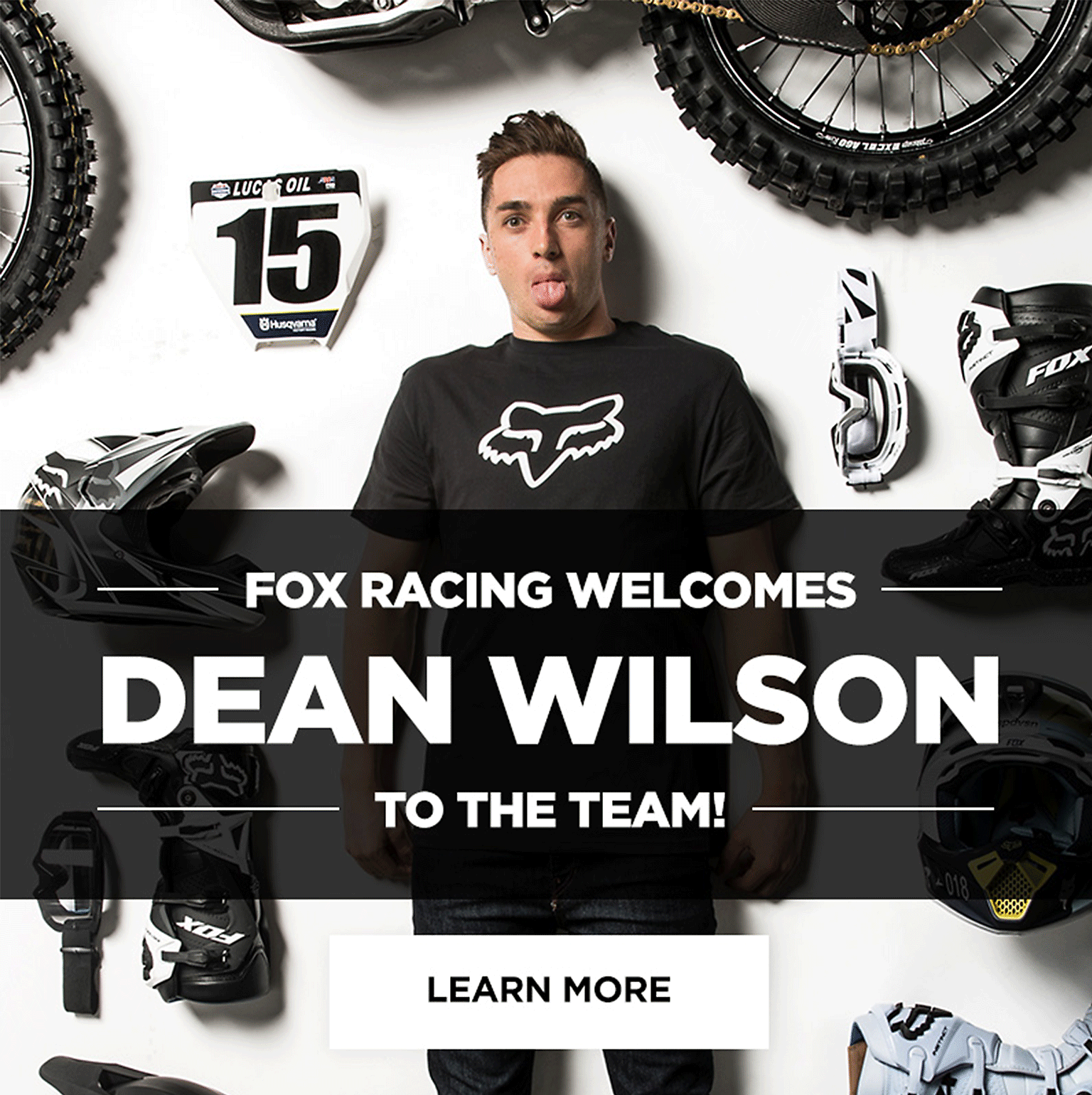 Fox Racing Welcomes Dean Wilson to the team