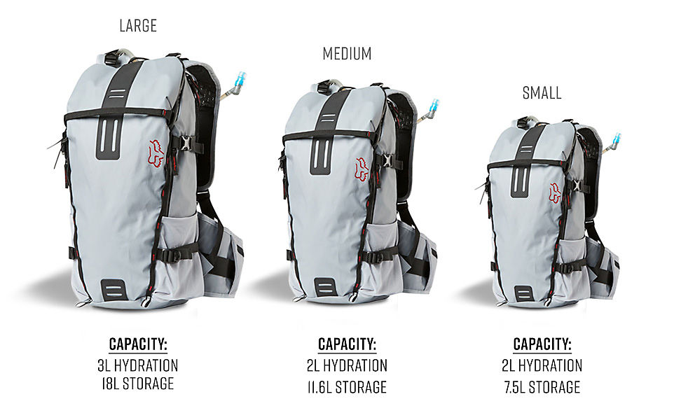 Fox MTB Hydration Packs Collection