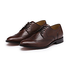 TED WINGTIP OXFORD DARK BROWN