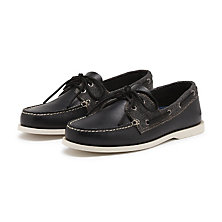 HAMPTON BOATER BLACK COMBO