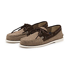 HAMPTON BOATER BROWN COMBO