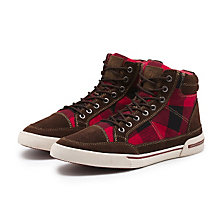 OSBOURNE SNEAKER RED PLAID