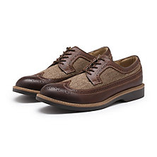 PASADENA WINGTIP BROWN COMBO