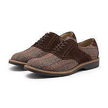 PASADENA PLAID SADDLE BROWN COMBO