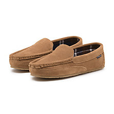 COMPASS SLIPPER TAN