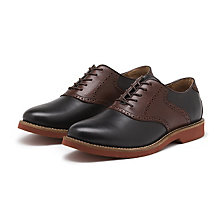 BURLINGTON SADDLE BLACK/BROWN