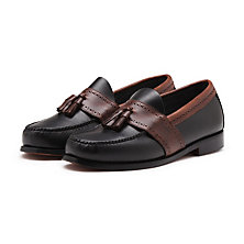 COLBERT LOAFER BLACK/BROWN