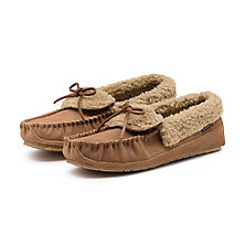 FINCH SLIPPER TAN