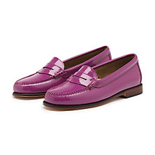 PATENT WEEJUNS PURPLE