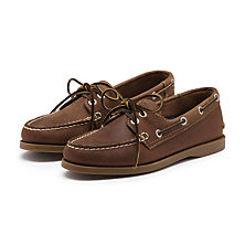 CASTOFF BOATER DARK BROWN