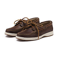 SAILER BOATER BROWN