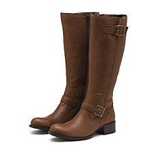 BRYANNE RIDING BOOT CHOCOLATE