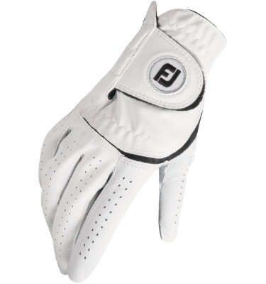 FootJoy Men's Alliance Golf Glove - White (Disc Style 66108)