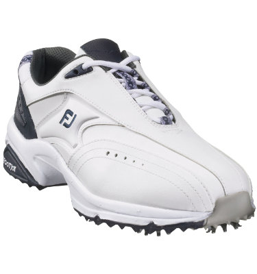 FootJoy Men's Athletic Golf Shoe 2009 - White/Navy