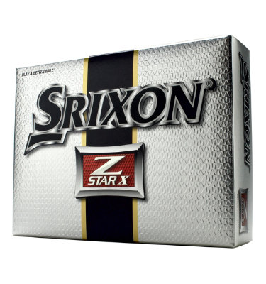 Srixon Mens Z Star X Golf Balls - 12 pack