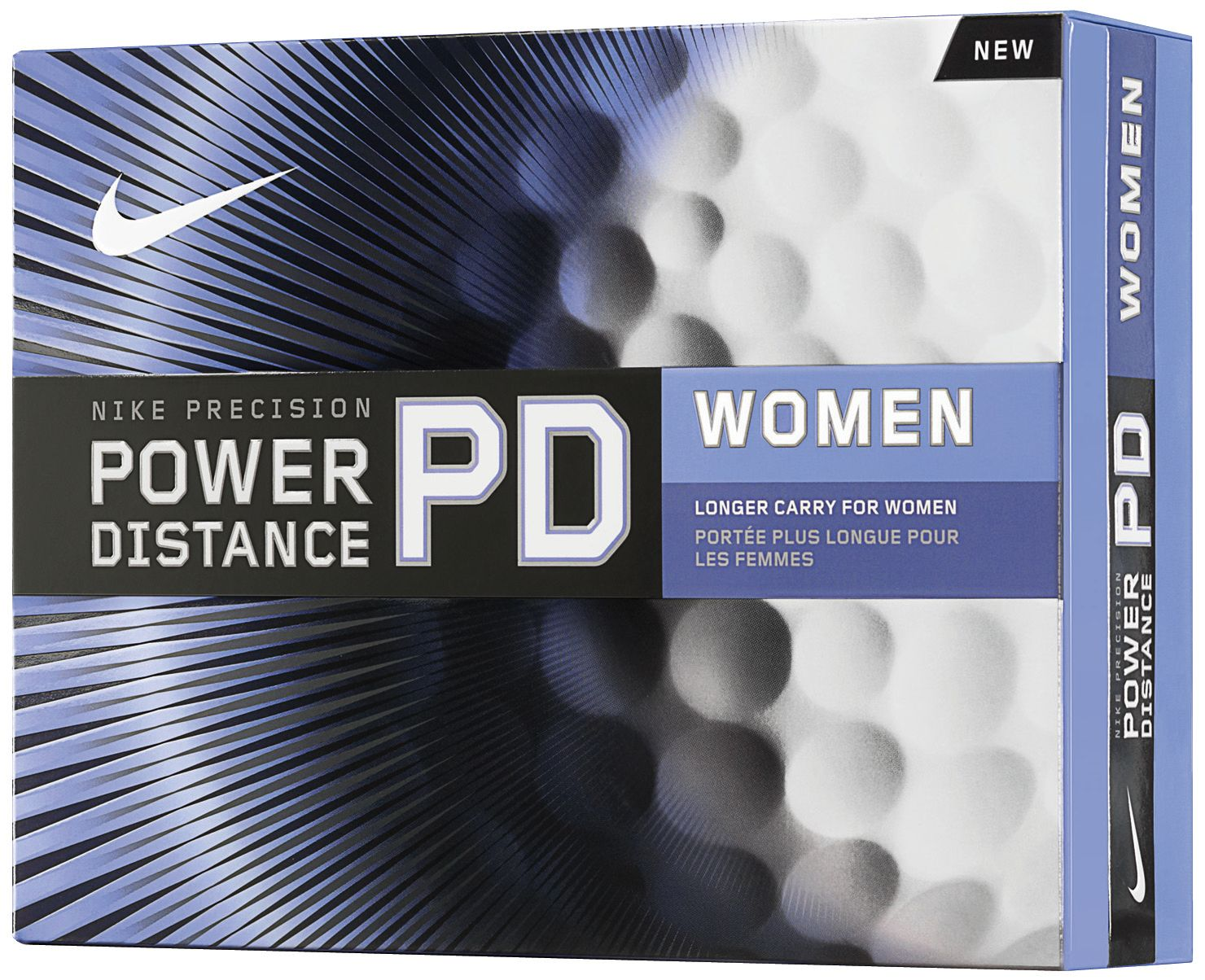 Nike Womens Power Distance Golf Balls 2011 - 12 pack (Personalized)