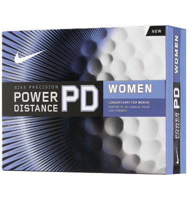 Nike Women's Power Distance Golf Balls - 12 pack