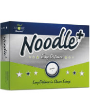 Noodle+ Easy Distance Golf Balls - 12 pack