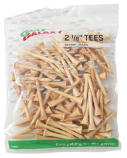 "Golf Galaxy 2 1/8"" Natural Golf Tees - 100 Count"