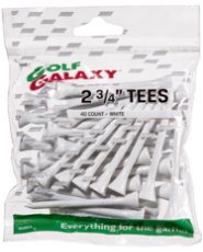 "Golf Galaxy 2 3/4"" Golf Tees - 40 count"