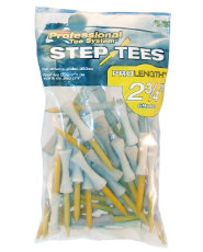 "Pride Professional PTS 2 3/4"" Step Tees - 50 count"
