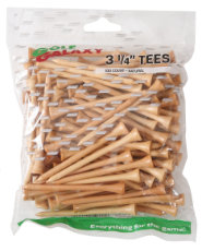 "Golf Galaxy 3 1/4"" Natural Golf Tees - 100 count"