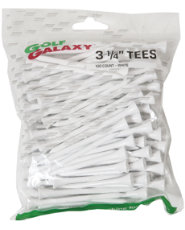 "Golf Galaxy 3 1/4"" White Golf Tees - 100 count"