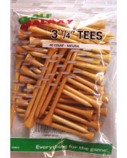 "Golf Galaxy 3 1/4"" Natural Golf Tees - 40 count"