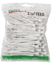 "Golf Galaxy White 3 1/4"" Golf Tees - 40 Count"