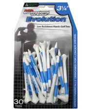 "Pride Professional 3 1/4"" Evolution Golf Tees - 30 Count"